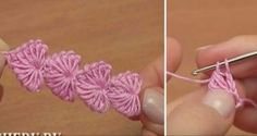 Watch How To Crochet Little Heart Shapes