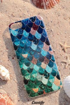 The perfect mermaid cell phone cover.