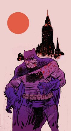 Batman: The Dark Knight Returns Comic Book Artists, Comic Book Characters, Comic Character, Comic Books Art, Comic Art, Character Design, I Am Batman, Batman Robin, Superman