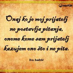 Ivo Andrić #citat #andric #ivo