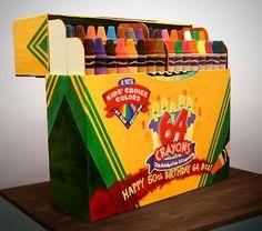 Torta: Crayons
