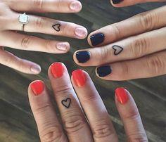 coolTop Friend Tattoos - Best Friend Tattoos - unique Friend Tattoos - 50 Small Tattoo Designs for Boys a. Mini Tattoos, Sister Tattoos, Little Tattoos, Trendy Tattoos, Unique Tattoos, Tattoos For Guys, Tattoos For Women, Heart Tattoos, Small Best Friend Tattoos