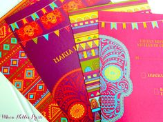Day of the Dead Wedding Invitations by WhoaNelliePress on Etsy, $100.00