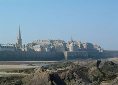 San Malo, France.  I had the best waffles ever from a food cart.