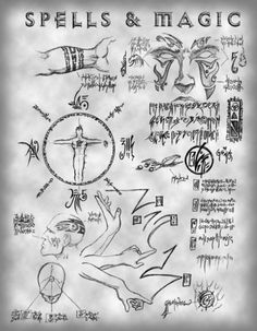 Ancient Witchcraft Symbols | edit ] The Nature of Magic