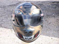 SideWinder air brushed helmet
