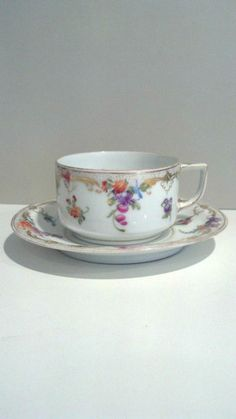 Dresden coffee cup