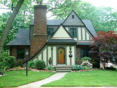 Beautiful front exterior! Photo of home for sale at 2535 Hyland Street, Ferndale MI www.TheWoodbeckTeam.com