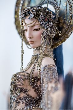 """Black Noize Cathedral - The exhibition """"10 years around the world"""" (Doll Collection Helena Thunder)"""