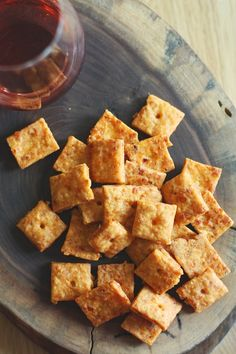 Smokey Homemade Cheese Crackers - without all the ingredients you can't pronounce :-)