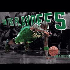 Kevin Garnett (#5) Boston Celtics NBA Playoffs