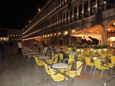Cafes de Plaza San Marcos, Venezia