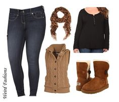 Casual plus size outfits for winter #Plus #Size #Fashion