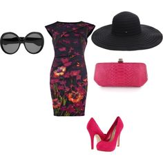 Kentucky Derby Chic, created by heather-gumb-wright.polyvore.com