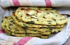 Tortillas de chou-fleur weight watchers, une recette légère, facile et simple à réaliser pour accompagner les soupes et les salades.