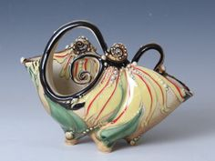 Extruded Pieces - Carol Long Pottery