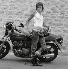 alberto garcia alix me gusta la moto Bike Tattoos, Music Tattoos, Garcia Alix, Alberto Garcia, British Journal Of Photography, Chicks On Bikes, Photography Awards, International Artist, National Photography