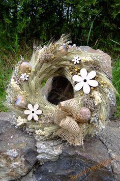 Věnce na dveře | Věnec letní - Květy v poli | Kouzelné kytičky