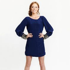Alicia Dress Navy, $135, now featured on Fab.