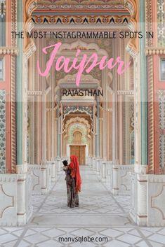 The Most Instagrammable Spots in Jaipur, India | Rajasthan | India | Travel | Photography | Instagram Locations | Jaipur | City Palace | Hawa Mahal | Panna Meena Ka Kund Step Well | Amber Fort | Jal Mahal | Galta Ji Temple | Jawahar Circle | Nahargarh Fort |