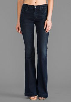 Citizens Of Humanity Hutton Flare in Palais Royal $198.00