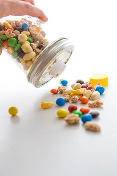 Best travel snack recipes for kids: trail mix in a DIY shaker | Babble