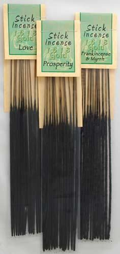 Sandalwood 1618 Gold Stick 13pk