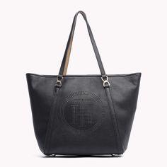 Black Tommy Hilfiger Tote Bag.