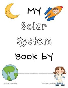 free printable solar system booklet - photo #12
