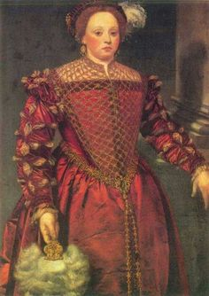 Portrait of a Lady, unknown artist, 16th century Italy, oil on canvas.