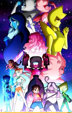 Steven universe,фэндомы,Smudgeandfrank,White Diamond,SU Персонажи,Pink Diamond,Blue Diamond,Yellow Diamond,Rose Quartz,Steven (SU),Garnet (SU),Amethyst (SU),Pearl (SU),Lapis Lazuli,Peridot,Lion (SU),Connie Maheswaran,SU art