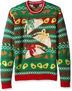 Youth Cat in Wreath Sweater Unisex Christmas Sweater for Kids