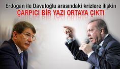 Cumhurbaşkanı Tayyip Erdoğan ile Başbakan Ahmet Davutoğlu arasındaki krizlere ilişkin çarpıcı bir yazı ortaya çıktı. 'Pelikan Dosyası'