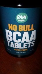 Raw Barrel's No Bull BCAA tablets, pure and clean, just how I like it!  Raw Barrel's - Pure BCAA Tablets - EXTRA STRONG 1000mg Per Pill - SEE RESULTS OR YOUR MONEY BACK - 120 Capsules, Contains 2:1:1 Branched Chain Amino Acid Ratio - with *FREE* digital guide