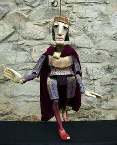 Hamlet marionette by Truhlar Marionety