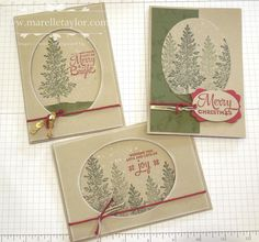 Marelle Taylor Stampin' Up! Demonstrator Sydney Australia: Lovely as a Christmas…