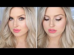 I typically use black eyeliner and black mascara but love this video using Brown Eyeliner & Mascara!