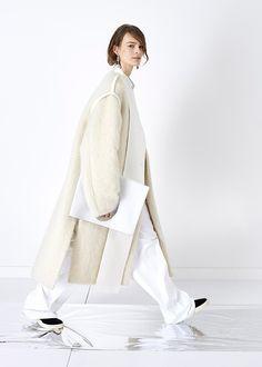 #white #casual #modern