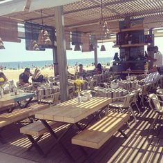 Blue Beach Bar #Barcelona