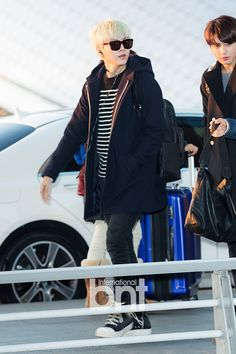 BTS at Incheon Airport Go To Taiwan