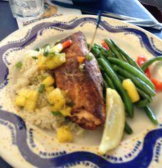 Running, Eating, and Drinking in Orlando Runner Diet, Blackened Salmon, Orlando, Cardio, Beef, Running, Chicken, Heart, Food