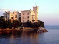 Miramare Castle in Triest Italy