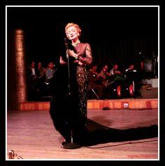 Marlene Dietrich at the Tropicana in Las Vegas