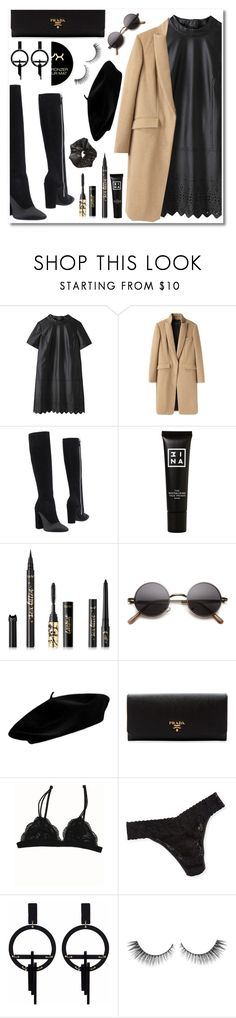 """// SATURDAY"" by saintliberata ❤ liked on Polyvore featuring rag & bone, Giambattista Valli, 3ina, tarte, Prada, Hanky Panky, Toolally and NYX"