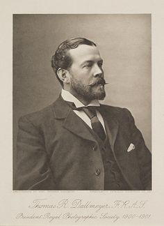 Thomas R. Dallmeyer. F.R.A.S. President Royal Photographic Society, 1900 - 1901. by National Media Museum, via Flickr