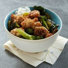 Sesame-Coated Chicken with Broccoli | Food & Wine