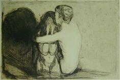 Consolation, Edvard Munch