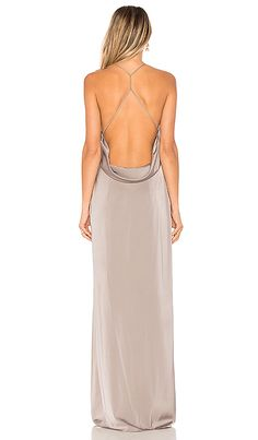 Shop for Lovers + Friends Sheyla Gown in Dark Grey at REVOLVE. Free day shipping and returns, 30 day price match guarantee. Modest Dresses, Sexy Dresses, Casual Dresses, Fashion Dresses, Prom Dresses, Elegant Dresses, Formal Dresses, Matric Dance Dresses, Grey Bridesmaid Dresses