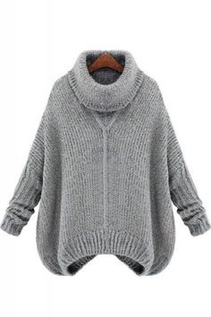 Turtle Neck Loose Pullover Sweater
