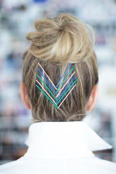 Pin for Later: 12 kreative Ideen um eure Haarnadeln mal anders zu verwenden